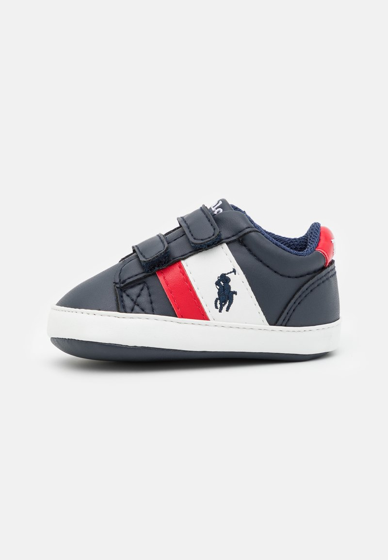 Polo Ralph Lauren - OAKVIEW LAYETTE UNISEX - First shoes - navy/red