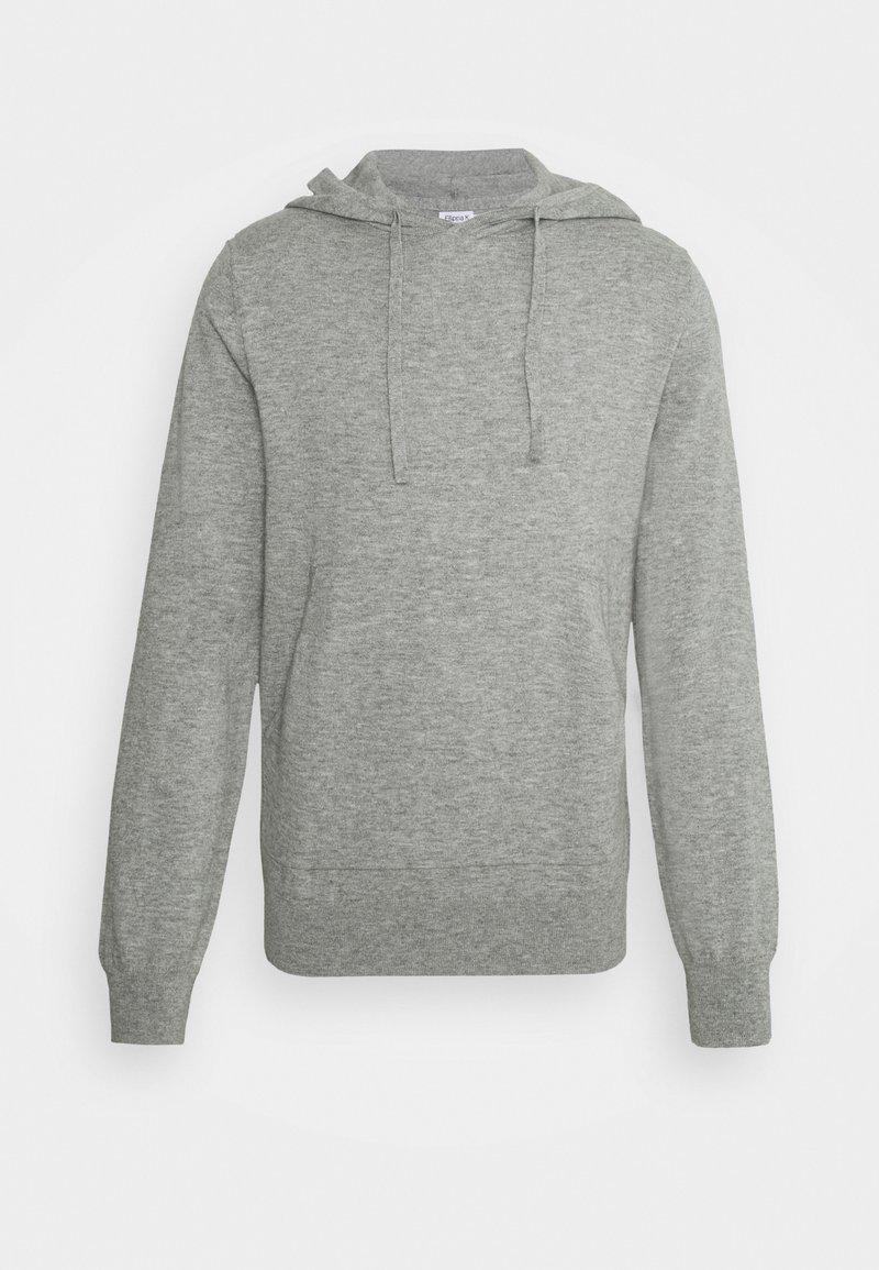 Filippa K - ARTHUR HOODIE - Jumper - light grey