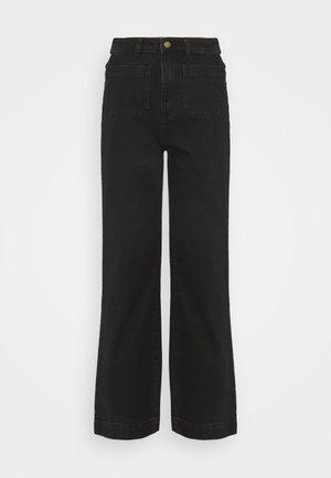 SAILOR - Široké džíny - jet black