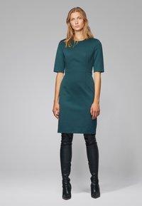 BOSS - DAXINE - Shift dress - dark green - 1