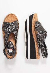 Replay - MYERS - Platform sandals - grey - 3