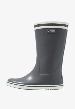 MALOUINE - Botas de agua - charcoal