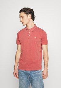 Wrangler - Polo shirt - barn red - 0