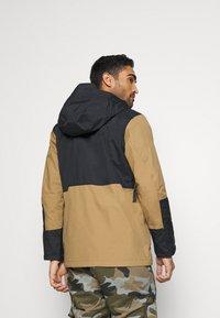 Columbia - PARK RUN ANORAK - Snowboard jacket - delta/black/plum - 2