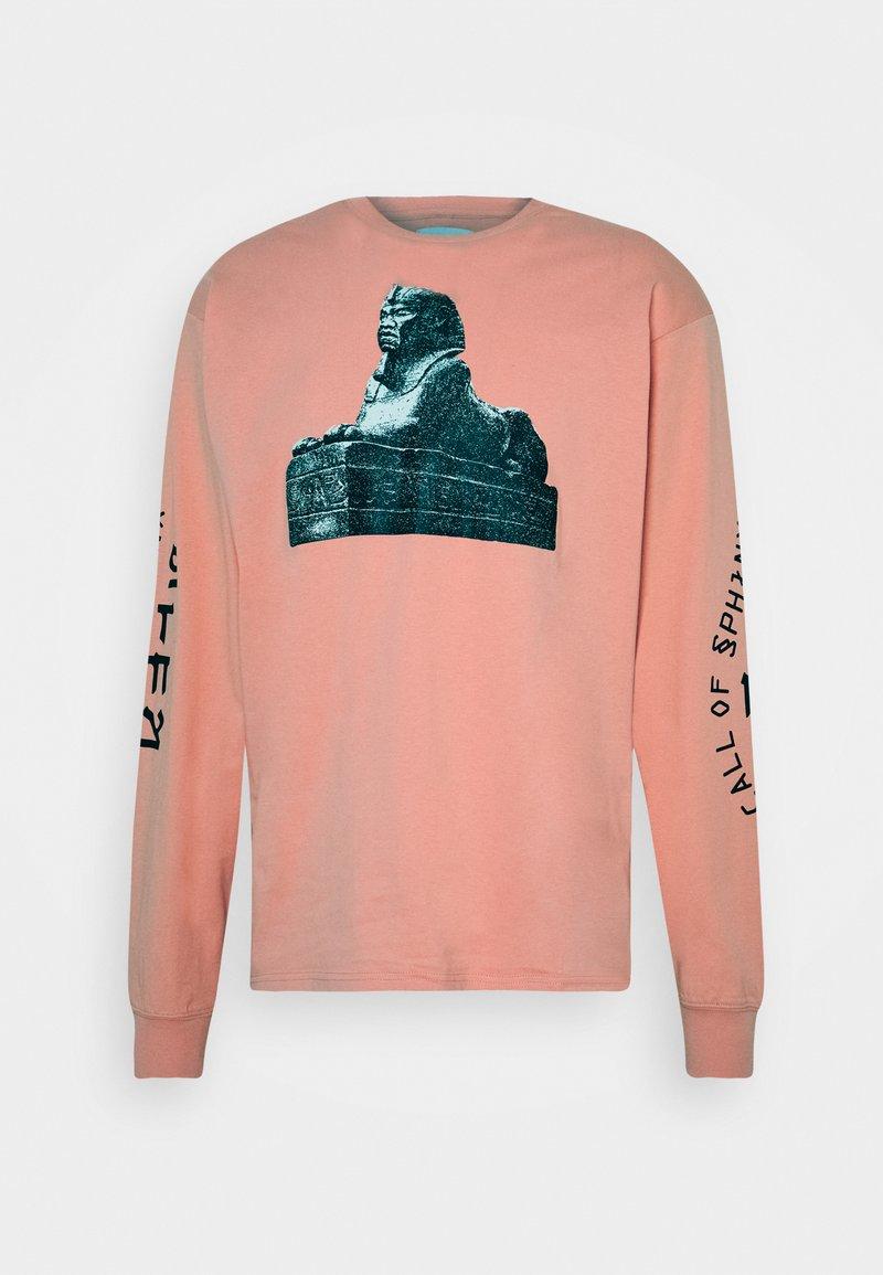 Grimey - CALL OR YORE LONG SLEEVE TEE UNISEX - Maglietta a manica lunga - pink