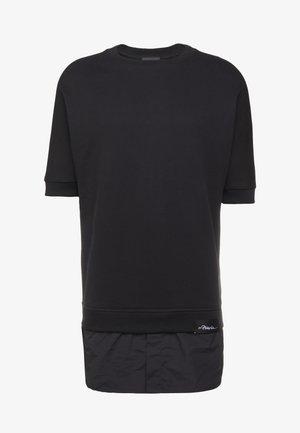 POPLIN - Print T-shirt - black