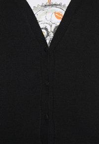 ONLY - ONLLESLY V NECK BUTTON - Cardigan - black - 5
