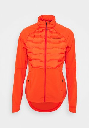 ARGON SWIFT HYBRID - Outdoorjacke - super nova