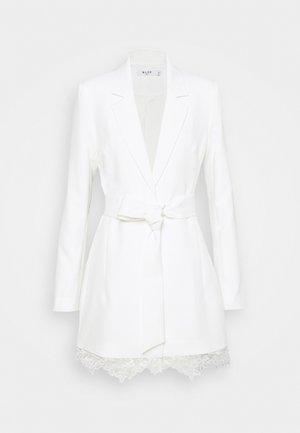 DETAIL BLAZER DRESS - Cocktailkjole - white
