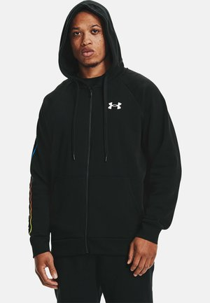 RIVAL FLC LOCKERTAG  - Zip-up hoodie - black