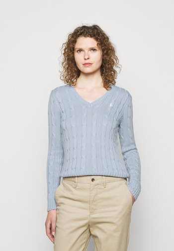 CLASSIC - Pullover - pale blue
