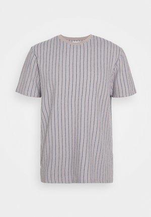 WAFFLE STRIPE - T-shirts print - grey
