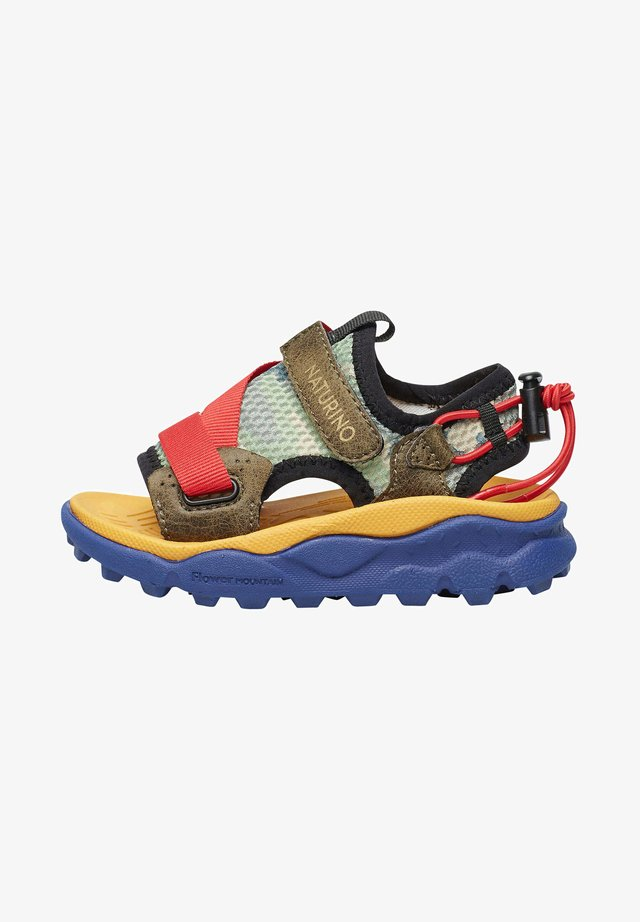 Sandales de randonnée - dunkelgrün