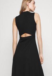 EDITED - TALIA DRESS - Jersey dress - schwarz - 4