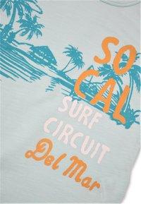 Cigit - SURF CIRCUIT - Print T-shirt - turquoise - 2