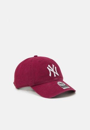 NEW YORK YANKEES CLEAN UP UNISEX - Cap - cardinal