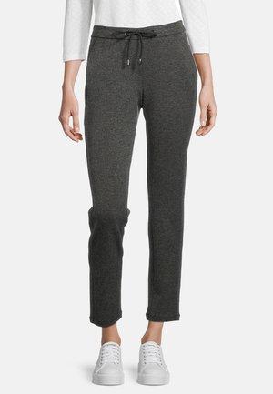 Trousers - schwarz/weiß