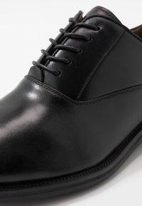 ALDO - ELOIE - Elegantní šněrovací boty - black - 5