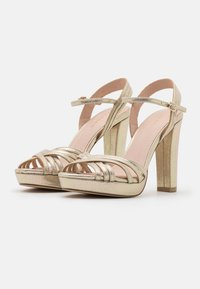 Menbur - High heeled sandals - gold - 2