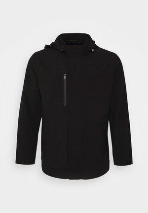 NOAH WATER RESISTANT ANORAK - Waterproof jacket - black