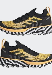 adidas Performance - TERREX TWO TRAIL RUNNING - Løbesko trail - gold - 13