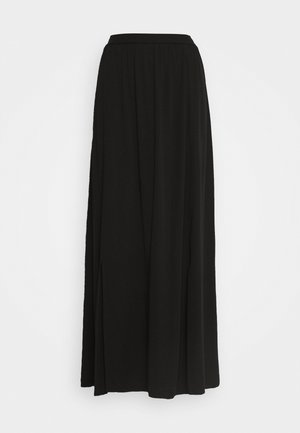 VISUVITA ANCLE SKIRT - Maxi skirt - black