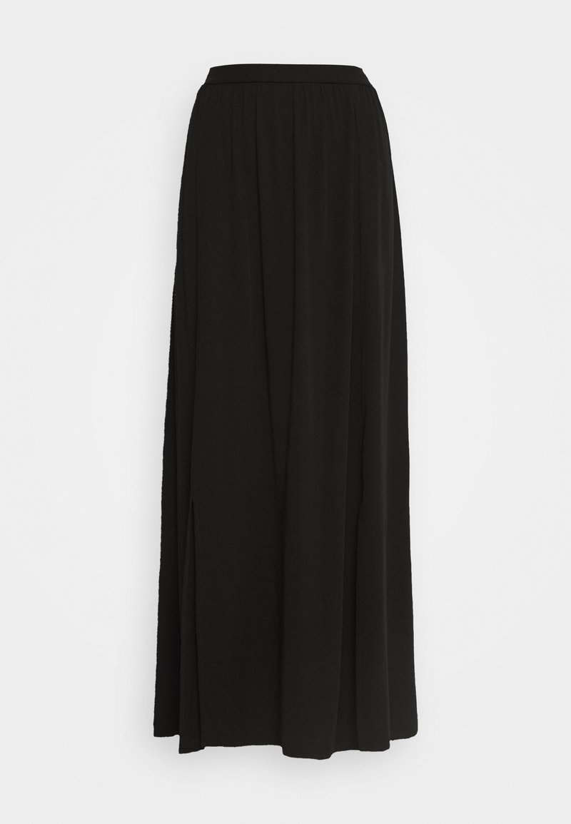 Vila - VISUVITA ANCLE SKIRT - Maxi skirt - black