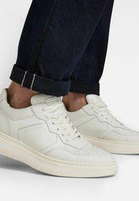 G-Star - TRIPLE A STRAIGHT SELVEDGE - Straight leg jeans - worn in bleak - 3
