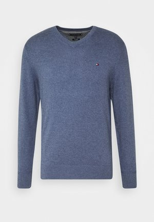 Strickpullover - blue