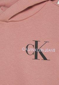 Calvin Klein Jeans - SMALL MONOGRAM - Mikina skapucí - pink - 2