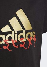adidas Performance - LEGO NINJAGO - Print T-shirt - black - 2
