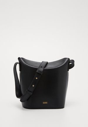 ANEMONE BUCKET SHOULDER - Across body bag - black