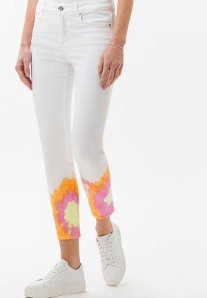 STYLE SHAKIRA - Jeans Skinny Fit - tie dye rainbow