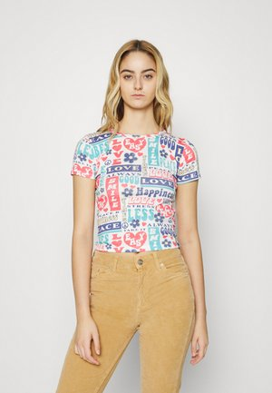 LOVE HAPPINESS BABY - T-shirt imprimé - multi