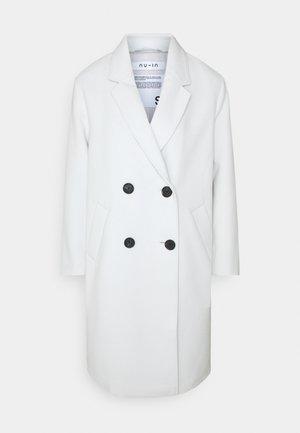 OVERSIZED DOUBLE BREASTED COAT - Classic coat - light grey marl