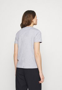 Calvin Klein - VALENTINES CREW NECK TEE - Printtipaita - light grey heather - 2