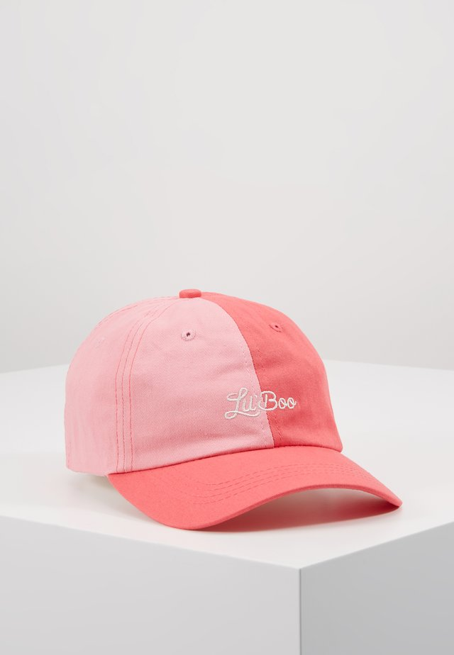 SPLIT DAD CAP - Casquette - pink/light pink