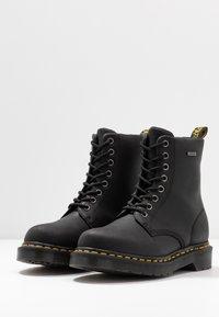 Dr. Martens - 1460 WP - Platform ankle boots - black republic - 4