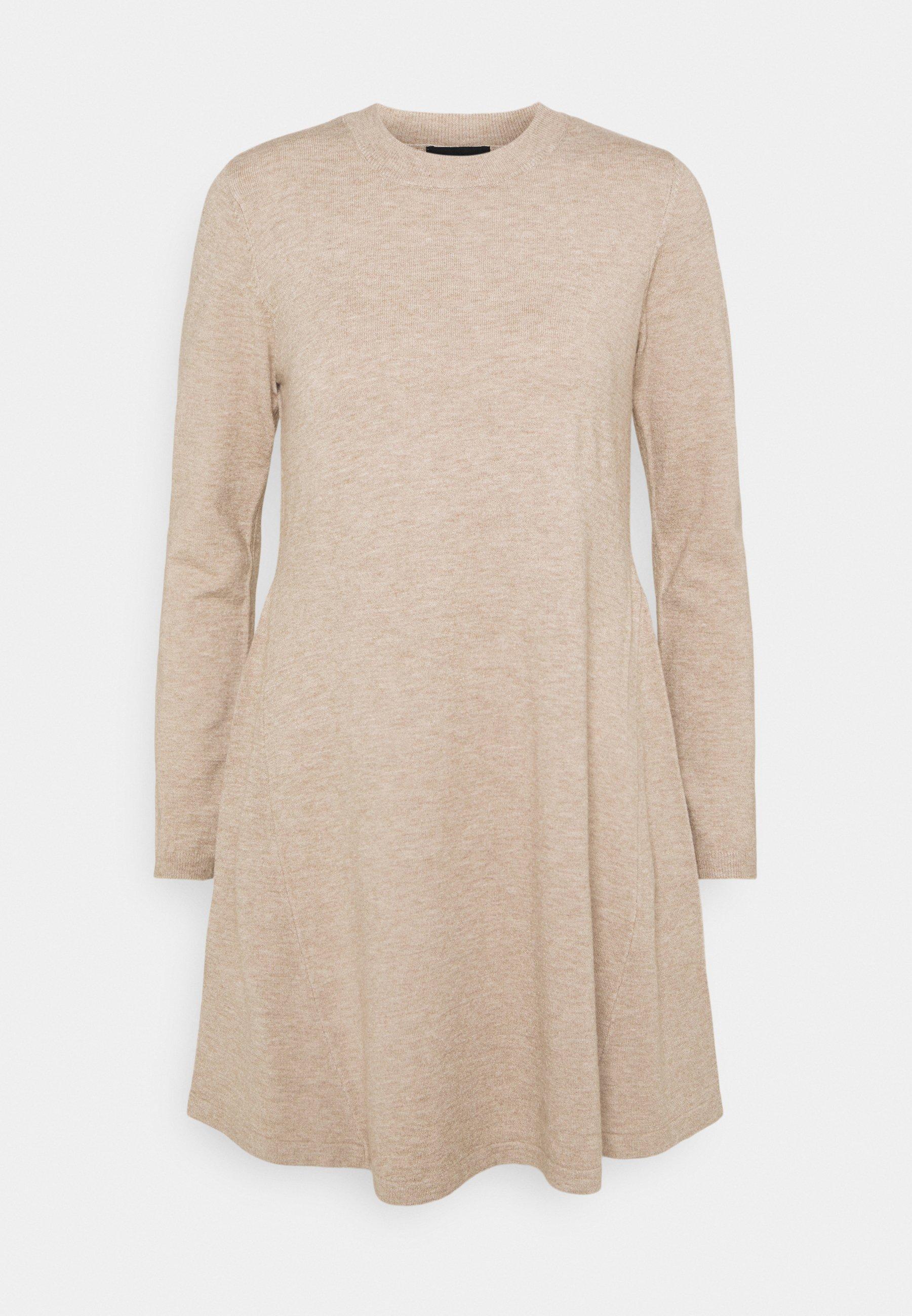 Women PCGILAYA O NECK DRESS - Jumper dress