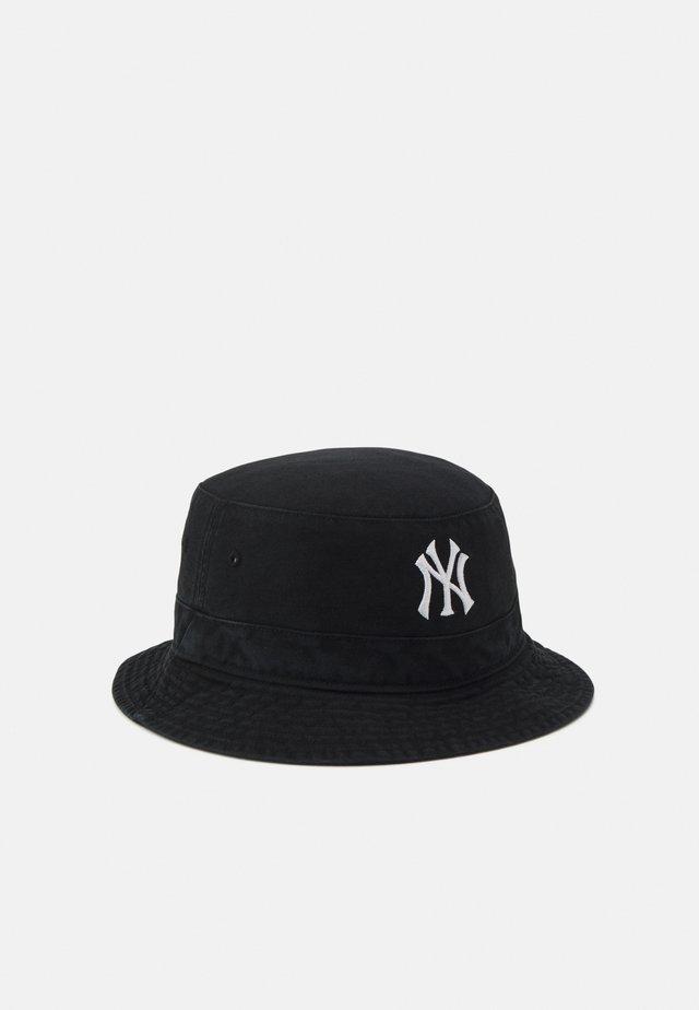 MLB NEW YORK YANKEES BUCKET UNISEX - Klobouk - black