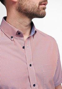 Eterna - MODERN FIT  - Shirt - pfirsich/weiss - 2