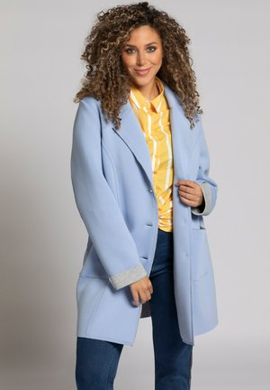 Classic coat - himmelblau