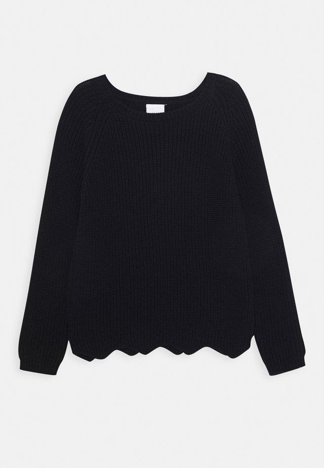 OLLY - Stickad tröja - navy blazer
