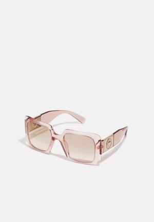 Zonnebril - transparent pink