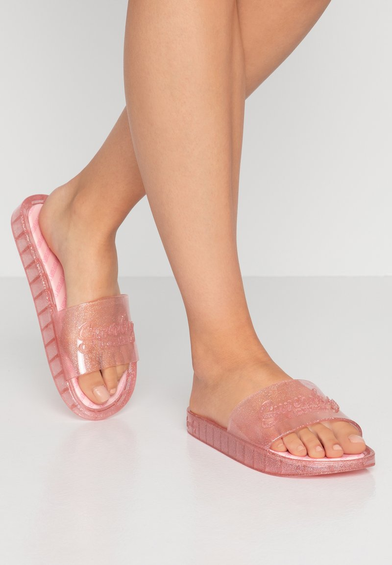 Superdry - MOULDED POOL SLIDE - Pool slides - crystal pink