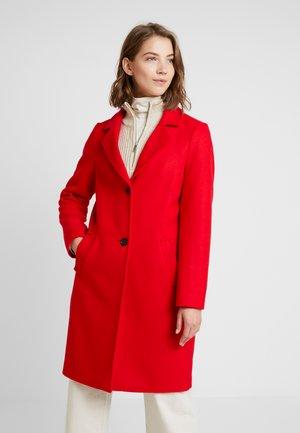 Manteau classique - scarlet