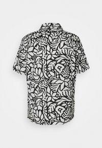 GAP - CAMP COLLAR - Shirt - white/black - 1