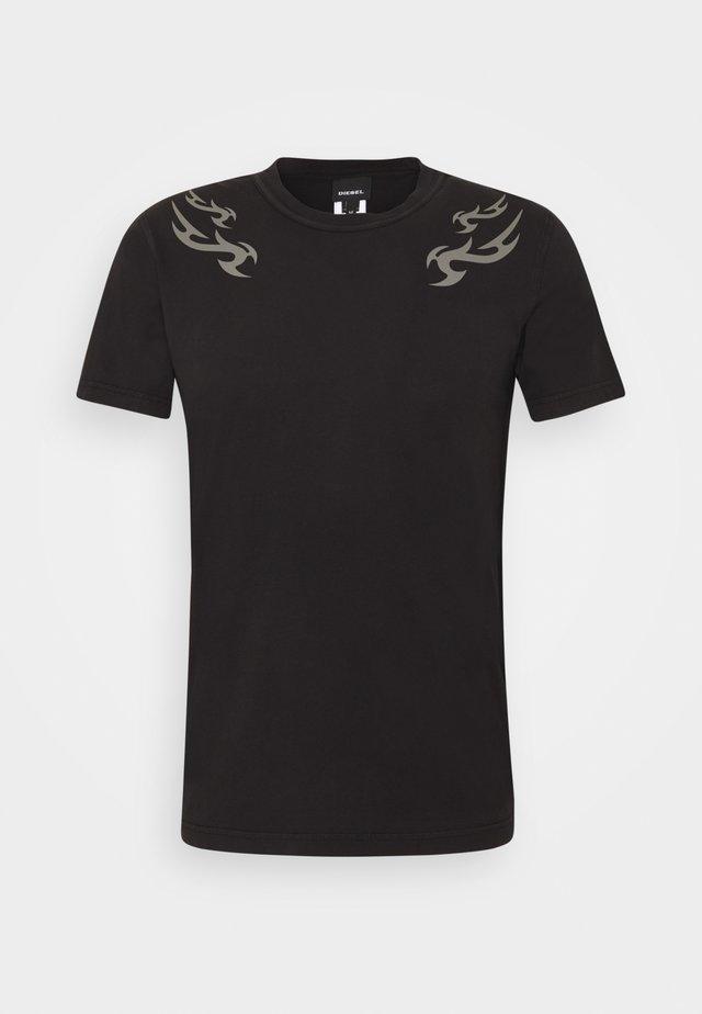 T-DIEBIND T-SHIRT - T-shirt con stampa - black