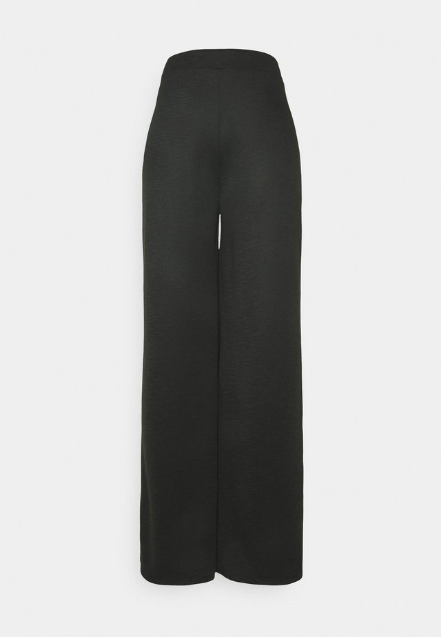 ONLLAYLA WIDE PANTS  - Trousers - black