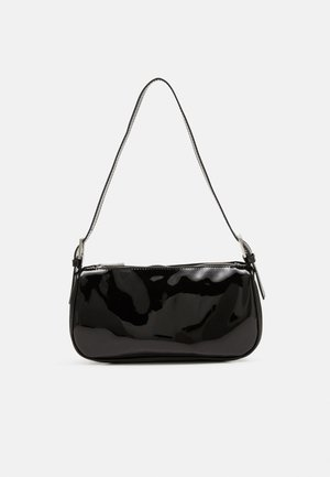 AMELIE BAG - Across body bag - black patent